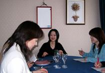心に響くテーブルマナーと食文化&グローバル食クラス授業風景